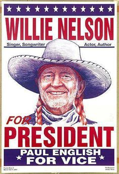 Willie Nelson and Paul English.