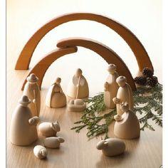 Contemporary German Nativity