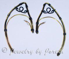 Lightning Elf Ears by InnBetween on Etsy, $30.00