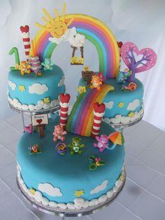 Oh!! Quem me dera ter tido este bolo quando era miúda!!!