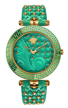 Never go unnoticed with the new Versace Vanitas watch colours. #Versace #VersaceWatches