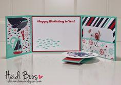 Stylin' Stampin' Squad Blog Hop - new catalog inspiration (Heidi Boos, Stuck on Stampin), Sea Street gift card holder