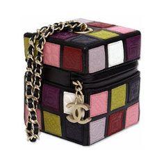 Chanel Purse  (cute, looks like a rubiks cube)