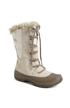 The North Face 'Nuptse Purna' Boot available at #Nordstrom weather boot, winter, warm boot, shoe, boots