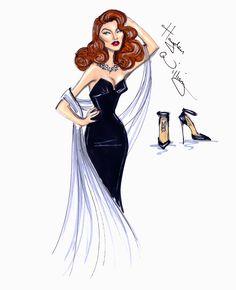 Hollywood Icons: Rita Hayworth by Hayden Williams