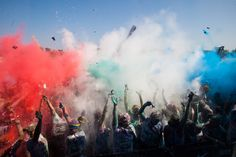 The Color Run™ and Major League Baseball teamed to create more colorful fun and mayhem than you can possibly imagine!