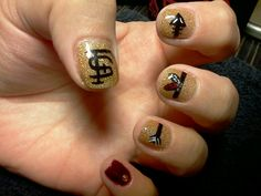 My FSU nails
