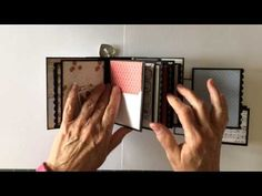 Teresa Collins Stationary Noted Pocket Mini Album - YouTube