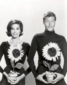 Mary Tyler Moore and Dick Van Dyke. S)