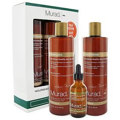 Murad Fine Hair Starter Kit....says it helps hair grow fast (not what its for, but thats what all the reviewers say)