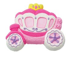 Create beautiful #Princess cakes with this Princess Carriage Cake Pan.