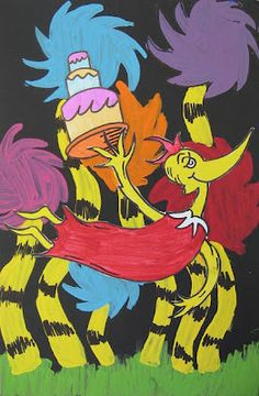 Dr. Seuss Birthday Birds