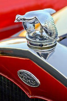 "1931 Ford ""Quail"" Hood Ornament"