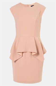 Peplum Dress  www.2dayslook.com