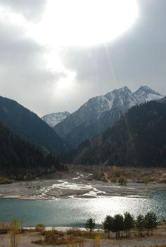 Lake Issyk, Kazakhstan