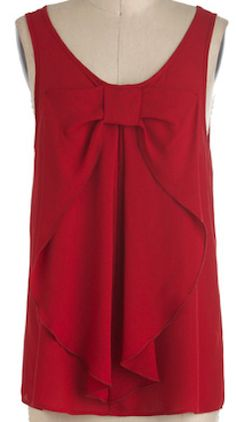 Cute #red bow top http://rstyle.me/n/ft4iqnyg6