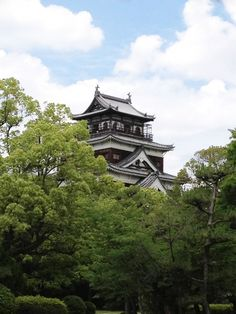 Photograph Hiroshima Castle in Spring by Fumie Harrington on 500px