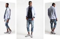 Tinkered Tailoring tinker tailor, men style, men fashion, miesten juttuja, attent pleas, denim roll, easi prep