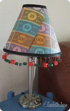 Monopoly lamp