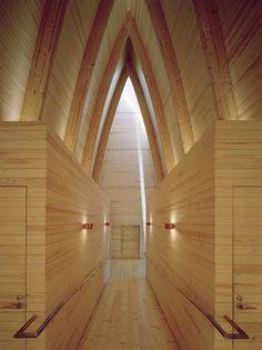 La St. Henry's Ecumenical Art Chapel di Sanaksenaho Architects