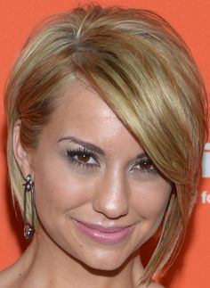 Chelsea Kane Side Parted Straight Cut - Short Hairstyles Lookbook - StyleBistro