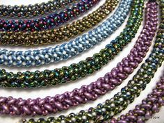 Tubular Herringbone Rope  #Seed #Bead #Tutorials