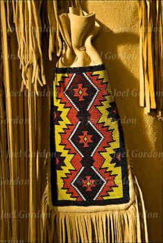 indian beading patterns free | Native American Pow Wow Regalia | Joel Gordon Photography