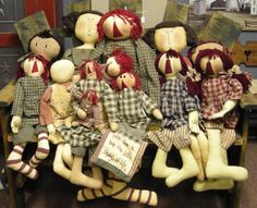 Dolls by Honey and Me at the Cottage Gift Shop - Elmira, NY