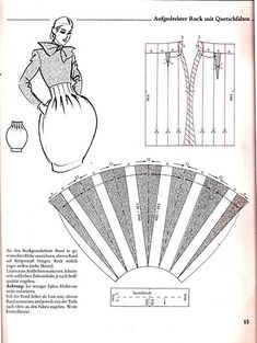 #Ballonrok / balloon skirt model (Img) balloon skirt, pattern construct, draft, fashion, patron, skirt model, sew pattern, diy, bubbl skirt
