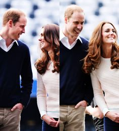 Kate Middleton and Prince William // The Duke and Duchess of Cambridge