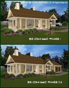 Expandable home plans on pinterest house plans cottage for Small expandable house plans