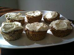Sugar Free Low Carb Vanilla Cream Cupcakes