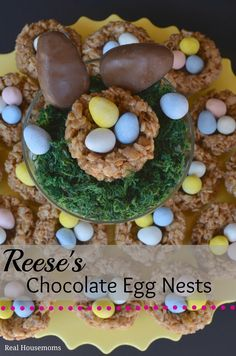Reese's Chocolate Egg Nests _Real Housemoms