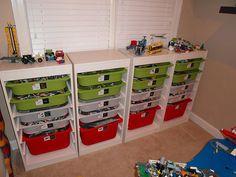 Ikea Trofast Lego Storage