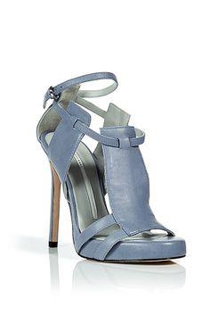 blue threepanel, sky blue, fashion style, camilla skovgaard, heel, stilettos, stiletto sandal, blues, threepanel stiletto
