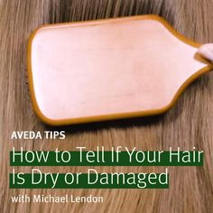 Try this easy at-home test to help diagnose your hair's needs. If you color your hair, experience hair breakage or split ends, then your hair might be damaged. Damaged hair solution: Aveda Damage Remedy Daily Hair Repair reduces breakage by 90% in one week. If your hair absorbs moisture quickly, tangles easily & is ruined by humidity, your hair might need hydration. Dry hair solution: Aveda Nutriplenish Leave-In Conditioner with omega-5-rich organic pomegranate oil to hydrate & replenish hair.