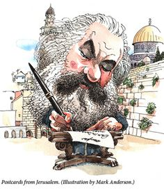 """Rather than focus on biblical sources, I decided to alert [UNESCO] to the fact that there has been a Jewish majority in Jerusalem since the 1850s, before the emergence of Zionism."" According to whom? Karl Marx."