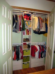 kids closet organization ideas | will help them keep closets in the perfect closet linen closet ...