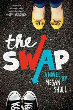 The Swap by Megan Shull - When seventh-grader Ellie, who is having best-friend problems, and eighth-grader Jack, who is under tremendous pressure from his father, switch bodies and lives, they learn a great deal about themselves and the opposite sex.