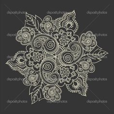 Paisley lace tattoo | Google Image Result for static8.depositph...