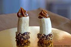 #Receta de plátanos con dulce de leche #platanos y #bananas banana