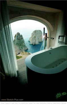 Hotel Punta Tragara in Capri, Italy