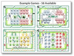 Football Maths � 58 Back to Basics Games CD from Let Me Learn on TeachersNotebook.com -  (250 pages)  - A CD containing 58 back to basics maths board games to print and play.  Inspired by reluctant and struggling learners who love games and soccer!