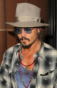 Johnny Depp looking as cool as ever.
