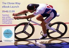 """The Obree Way - a training manual for cyclists"" the new eBook from British cycling legend Graeme Obree is now available as an eBook on all devices. http://j.mp/PnObree"