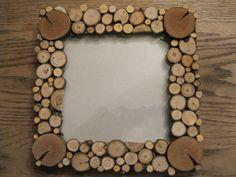 Tree Slice Picture Frame-Wood Slice Wedding Frame-Rustic Wedding Frame-Lodge Decor-Woodland Weddings-Cabin Decor. $40.00, via Etsy.