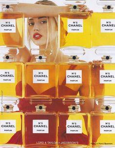 1998 Chanel No.5 fragrance ad. #cc #fashion