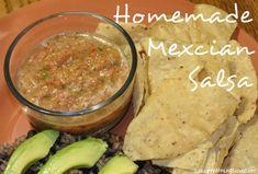 Best Homemade fresh Salsa!