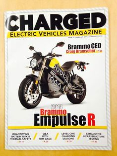 February 2014 Charged Electric vehicle Magazine.