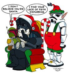 This is not the Santa you're looking for